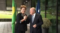 News video: Blatter gives Rousseff vote of confidence for World Cup